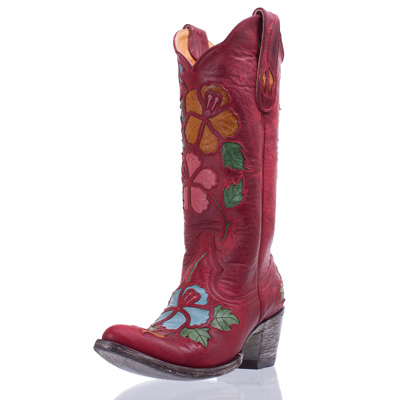Pink Old Gringo Cowgirl Boots