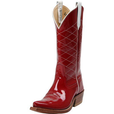 Red Rios of Mercedes cowboy boots