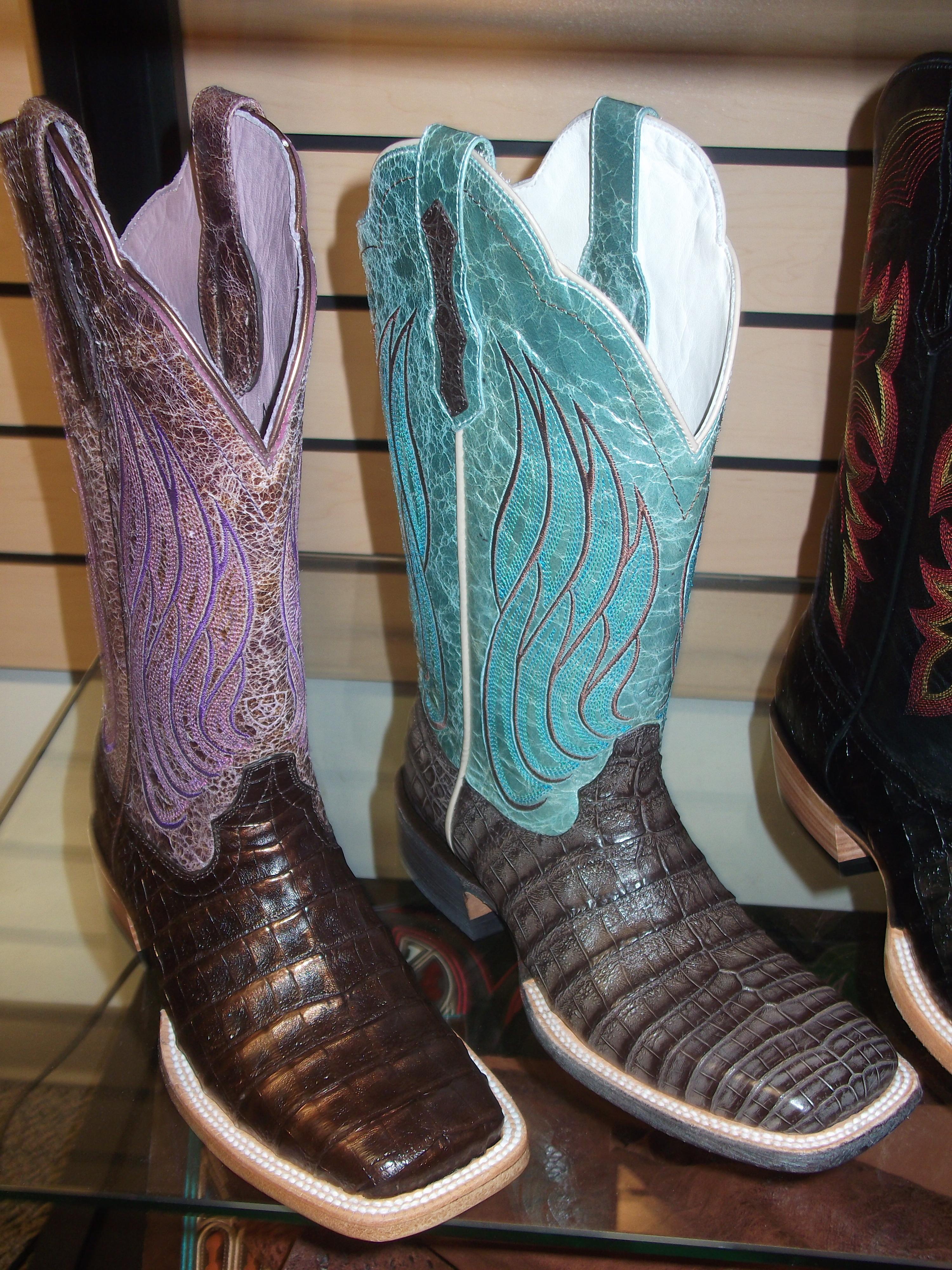 aa378fab764 Ariat's Nitro Caiman Belly Boots   Horses & Heels