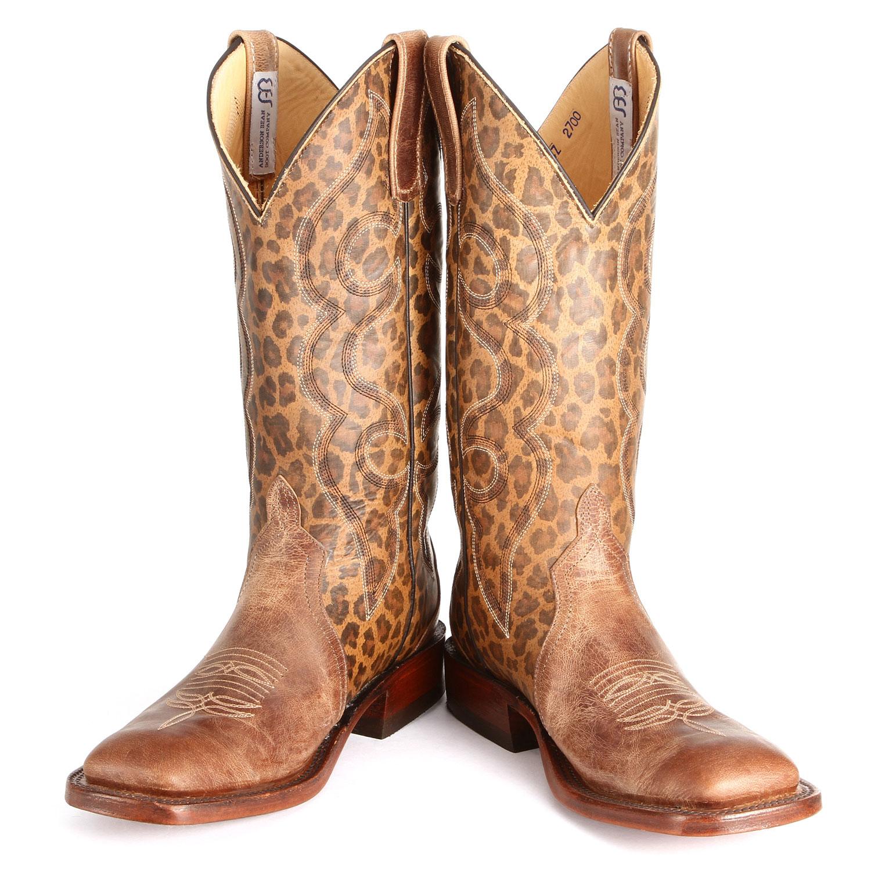 Leopard Print Anderson Bean Cowboy Boots Horses Amp Heels