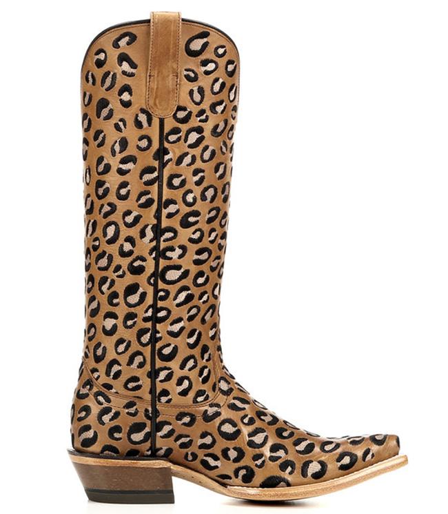 Ariat Leopard Print Cowboy Boots Horses Amp Heels
