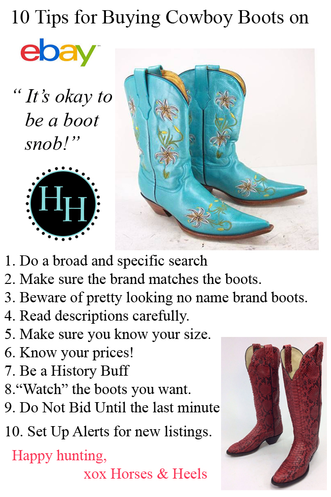 04014ca6560 10 Tips for Buying Cowboy Boots on eBay | Horses & Heels