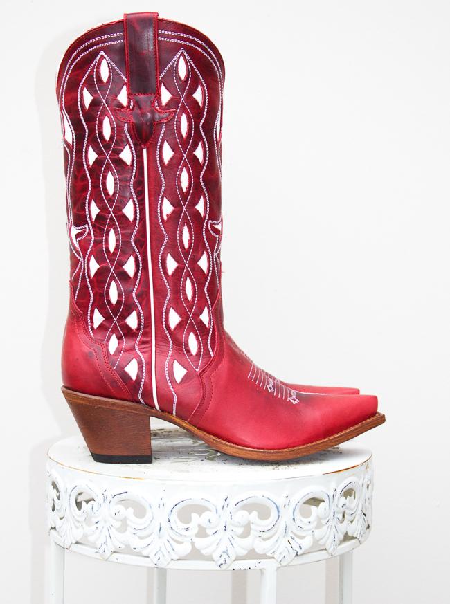 Red Hot Macie Bean Boots Horses Amp Heels