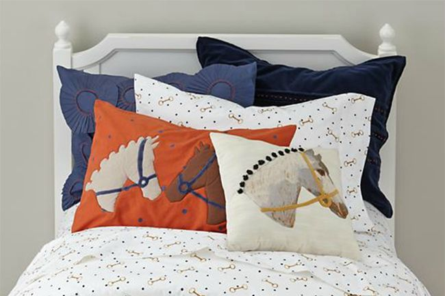 Equestrian Bedding From The Land Of Nod Horses Amp Heels