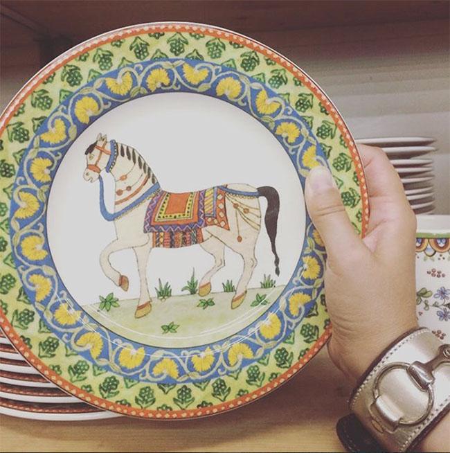 World Market Voyage Horse Plates & 3 Equestrian Dinnerware Collections | Horses u0026 Heels