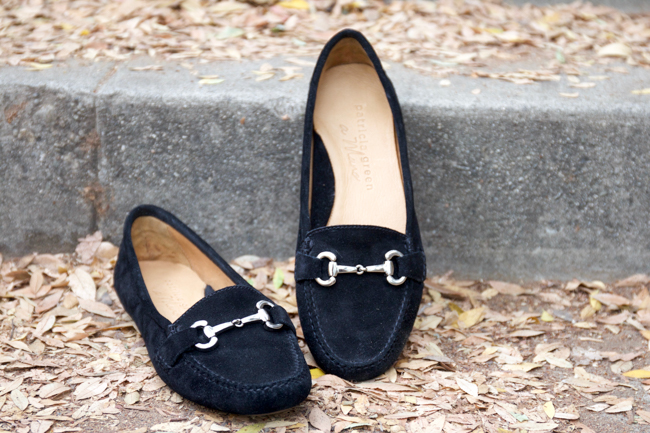b52b944e2ce Patricia Green Carrie black suede snaffle bit loafers