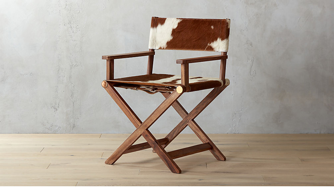 Brilliant New Cowhide Furniture From Cb2 Horses Heels Machost Co Dining Chair Design Ideas Machostcouk
