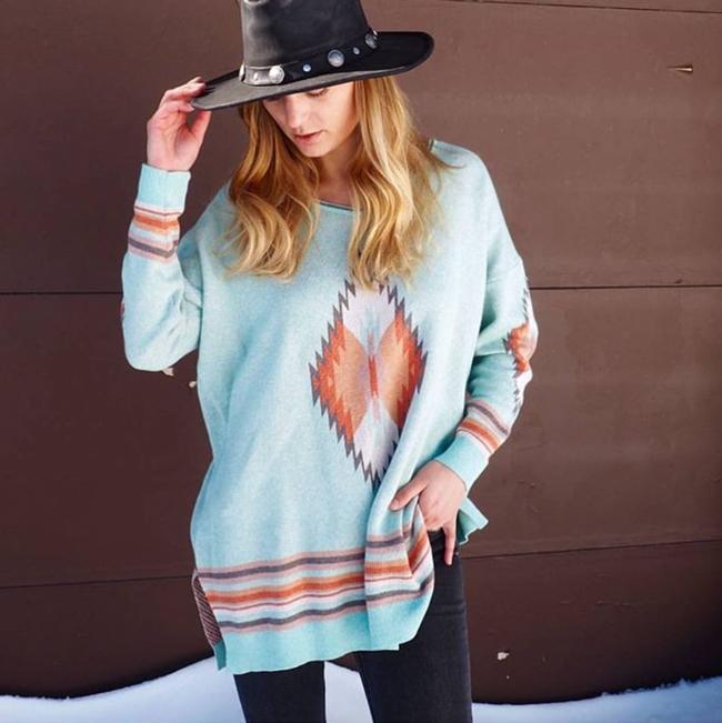 27062d1daf Tasha Polizzi Southwest sweater