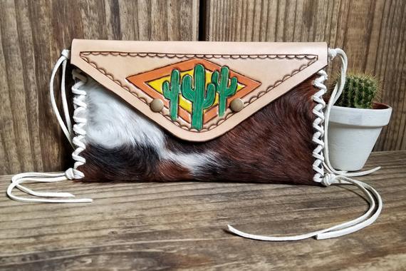 Cactus accented bag