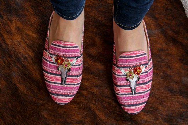 Pink mules by Sam Edelman