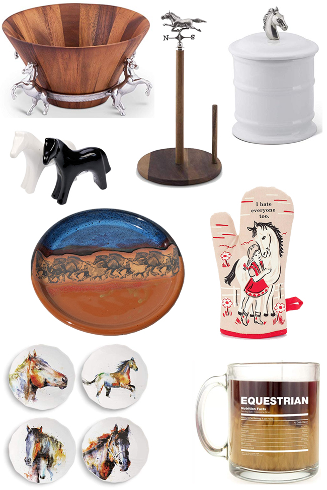Horse themed kitchen accessories