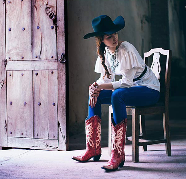 Corral cowboy boots and western style