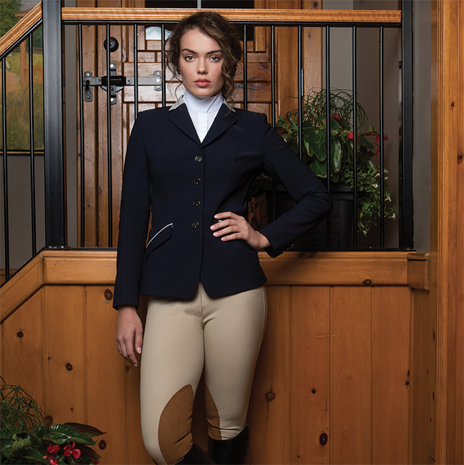 Equestrian style for the show ring