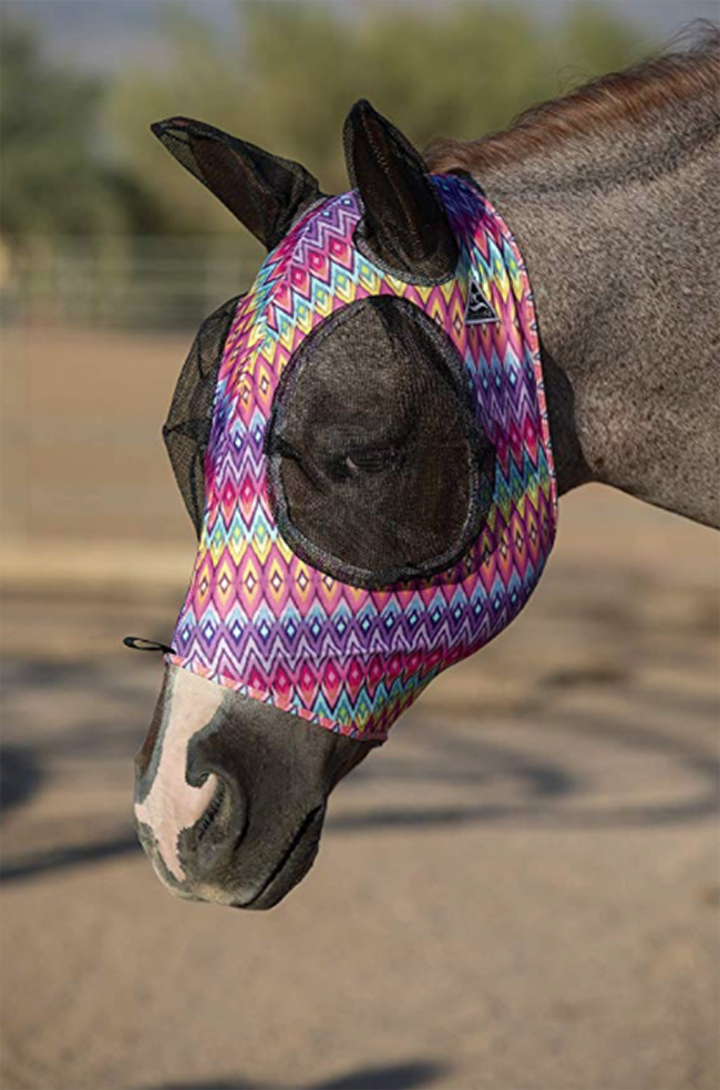 Protective fly mask