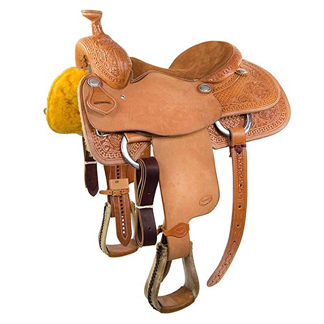 Teskey's Roper saddle