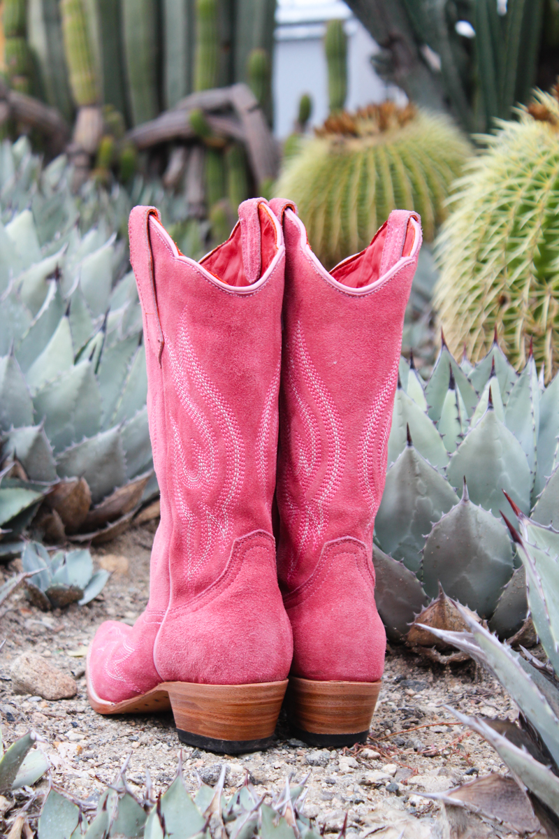 My Pinky Tuscadero boots by Planet Cowboy