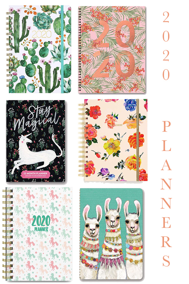 Fabulous planners for 2020