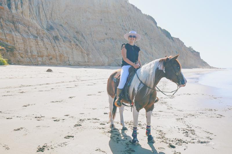 Aventura na lista de baldes: passeios a cavalo na praia 4