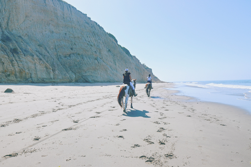 Praia de Loon Point, no sul da Califórnia
