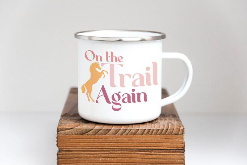 Tasse de camp en émail On the Trail Mug